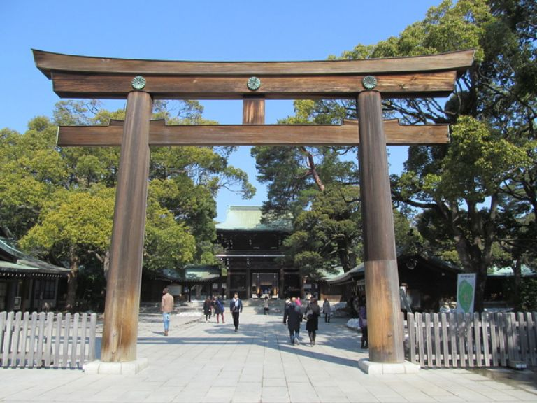 Meiji Shrine Meiji-Jingu Tokyo All Japan Tours