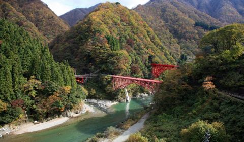 photo of Kurobe Gorge